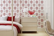 Wallpaper as an Accent / Instant Pattern and Color