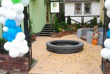 Garden design / Sculpture, decoration, oven, fire pit, water