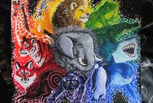Animal Art / Artistic portrayal of the creatures we share the planet with.