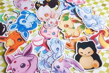 Geeky Gift Guide - Gift Ideas For Him - Geek Gift Ideas - Pokemon Art - Geek Art - Geek Decor / Discover the perfect Adorkable gift for your fellow geek! Pokemon Art - Geek Art - Geek Decor - Pokemon Drawings