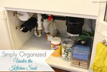 Organize It / Ideas for organizing rooms, garage, yard...the whole living space.