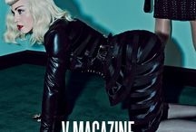 Madonna & Katy Perry / Paul seville Belts for Madonna & Katy Perry in V Magazine