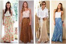Saias♥ / Diversos Modelos de saias, amo!