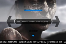 Awesome webdesign in action! / Web design and awesome templates!
