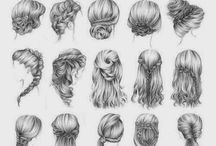 Dibujos de pelo