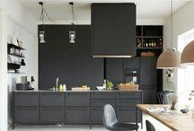 Offene Küche Grau Wohnzimmer Weiß