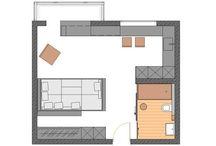 small studio / małe mieszkania