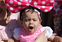 Minnie Mouse Bow Idea...! / Make your daugther happy...!