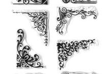 """Sellos o """"Stamps"""" / Con los sellos podemos dar realce a nuetros proyectos, estampando preciosas figuras, flores, mariposas o frases de felicitacion.  Si deseas adquirir algun sello, visitanos en nuestra tienda online o escrbenos a tiendaonline@mitiendadescrap.cl.  Te esperamos!!"""