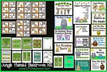 School Safari classroom theme