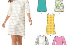 shift dress pattern