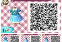 Animal Crossing New Leaf / Qr codes