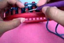 Little Bow Stitch loom knitting
