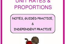 Math: Ratio & Proportion