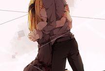 Rin e Len Kagamine / Vocaloid- Rin e Len