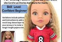 Jen Ashey Doll Designs 18 Inch Doll Clothes
