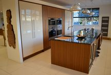 Luxury Solid Walnut Ex-Display Kitchen with Wolf & Sub Zero Appliances