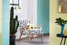 Summer Cactus Interiors and accessories