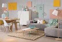 Stijl Studio: Design / vtwonen Stijl Studio 'Design' bewijst dat deze stijl zeker niet kil en koud is. De zachte pastelkleuren in combinatie met het blanke hout en warme materialen, maken het geheel vriendelijk met een Scandinavische touch. De vormgeving is organisch, comfortabel en doordacht. Door de mix van verschillende meubels en materialen, creëer je een toegankelijke en persoonlijke stijl. / by Eijerkamp - Wooninspiratie, tips & trends