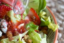 salads dressings and herb oils