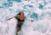 summer / sea air and salty hair