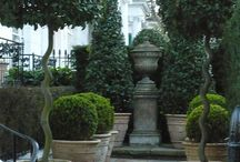 potten en tuin