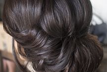 Updos for brunettes