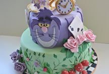 Alice in Wonderland cake / Alice in Wonderland cake