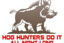 Hog hunting fun / by Hedi Breshears