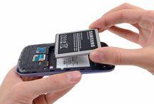 Sustitución de la batería del Samsung Galaxy S3 / Para sustituir la batería del Samsung Galaxy S3, siga los pasos siguientes.