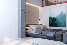Design Apartment in red / Design Apartment in red