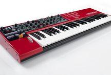 sintetizzatori e tastiere