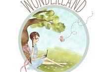 Designs /  Designs by Wonderland Graphic Design © / by Wonderland Graphic Design