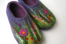 Felt to be believed... / All things hand made, felted textile art wear & accessories...