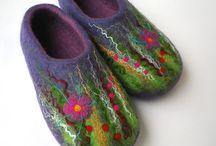 валянная обувь