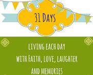 31 Days Writing Challenge