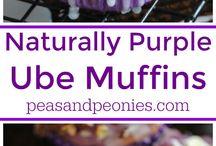 Ube Muffins