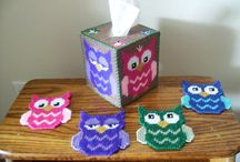 Plastic Canvas-Owls / by Michelle Haigh