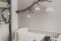 wooden nursery decor / Nursery decor ideas