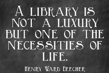 uitspraken over bibliotheken