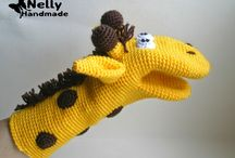 Handpoppen (crochet)