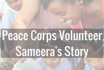 Peace Corps Volunteer Interviews / Your home for travel tips, finding yourself on your travel journey and life in Peace Corps.