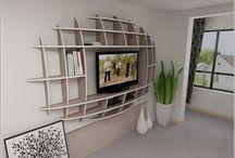 Living Room Shelf