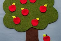 Apple Harvest Felt Board Sets from Felt Board Magic