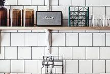 Kuchnia otwarte półki