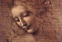 Art - Leonardo Da Vinci / by Sheri Nye