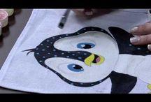 Videos Pintura em Tecido do Programa Mulher.Com  RS21