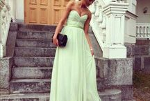 2014 Trend: Mint / Expect to see this minty fresh color at spring and summer weddings in 2014!