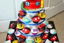 Clay's 7th Birthday cupcakes