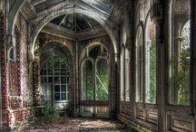 Opustené domy